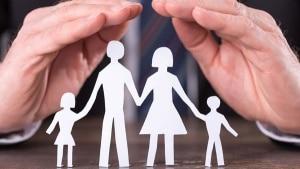 Beitragsbild: Schutz der Familie